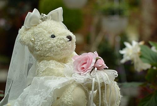 熊 結婚式 意味
